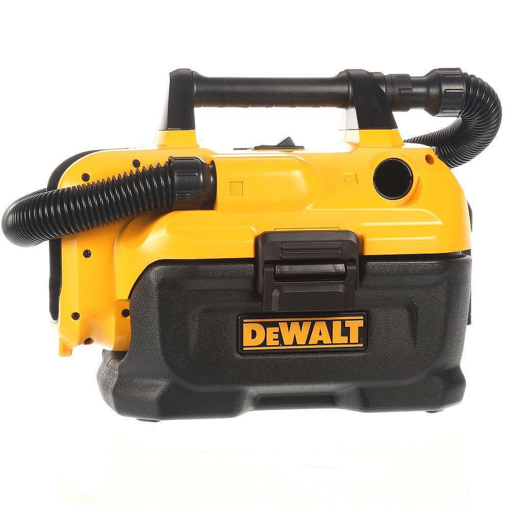 DEWALT 2 Gal. Max sans fil Aspirateur eau et poussière sans batterie ni chargeur