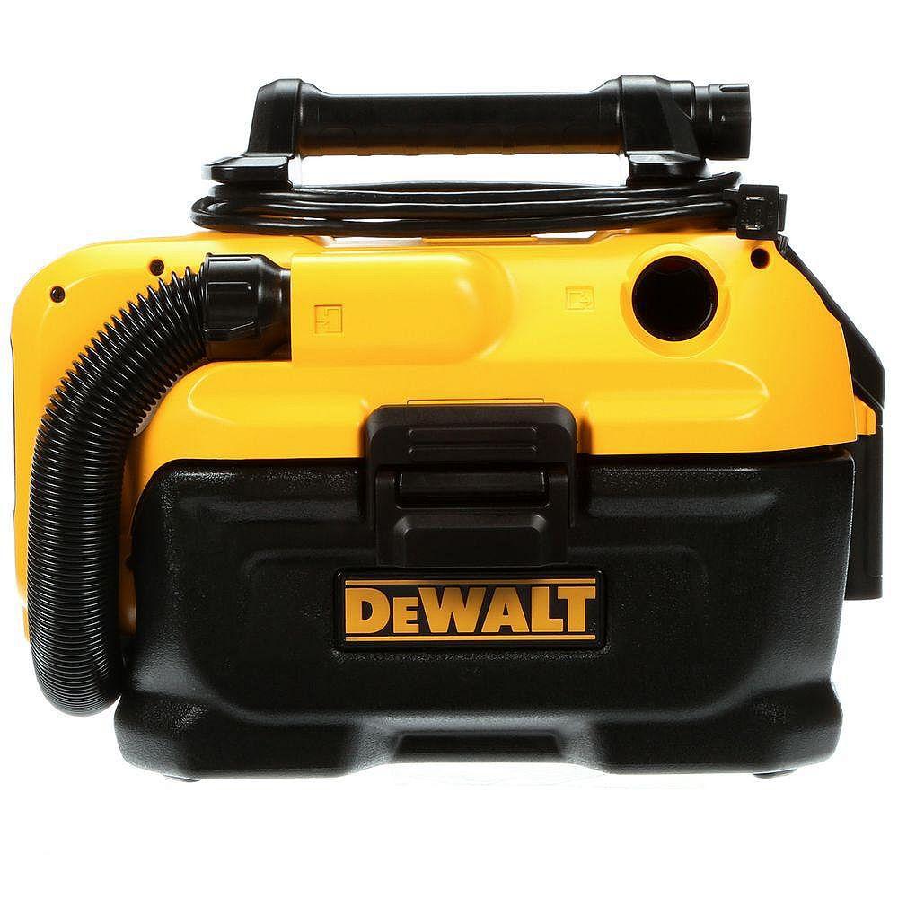 DEWALT 20V MAX Cordless/Corded 7.5L Wet/Dry Vacuum