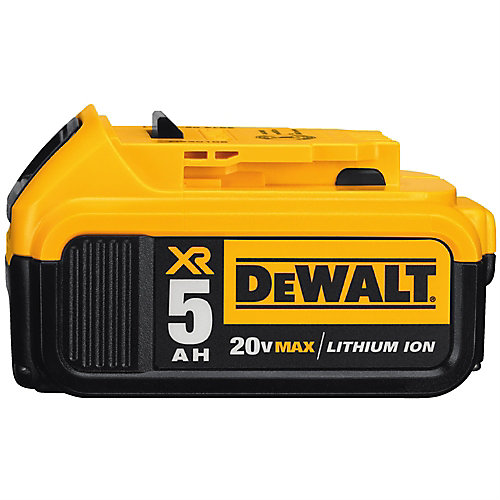 20V MAX XR Lithium-Ion Premium Battery Pack 5.0Ah