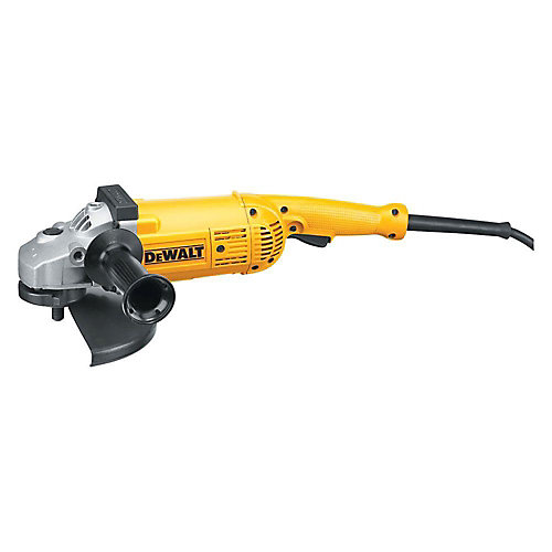 15 Amp 5.3 HP 7-inch and 9-inch (180 mm and 230 mm) Angle Grinder
