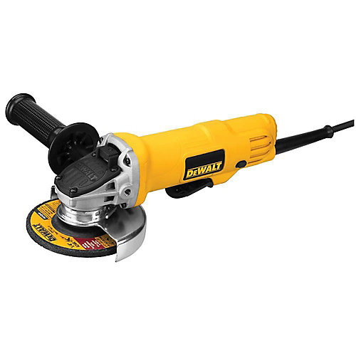 7.5 Amp 4.5-inch Corded 12,000 RPM Paddle Switch Small Angle Grinder