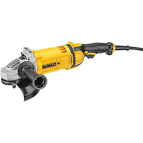 7-inch 4.7 hp Corded Angle Grinder with Guard