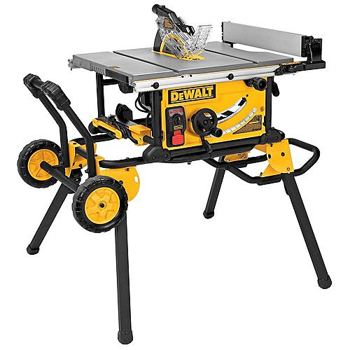 10-inch Table Saw (32 1/2-inch Rip Capacity) with Rolling Stand and Guard Detect
