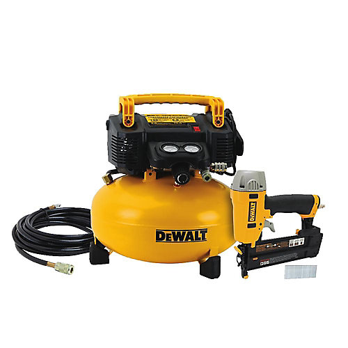 18-Gauge Brad Nailer and 6 Gal. Air Compressor Combo Kit