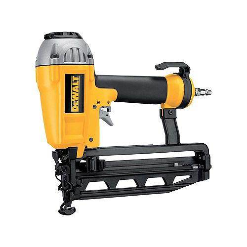 DEWALT Cloueuse de finition pneumatique, calibre16, 1 à 2 1/2 po