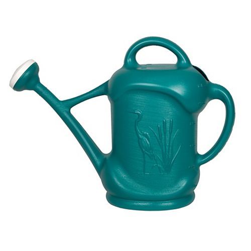 3 US Gal. / 11,3L Watering Can with Heron Design, Blue