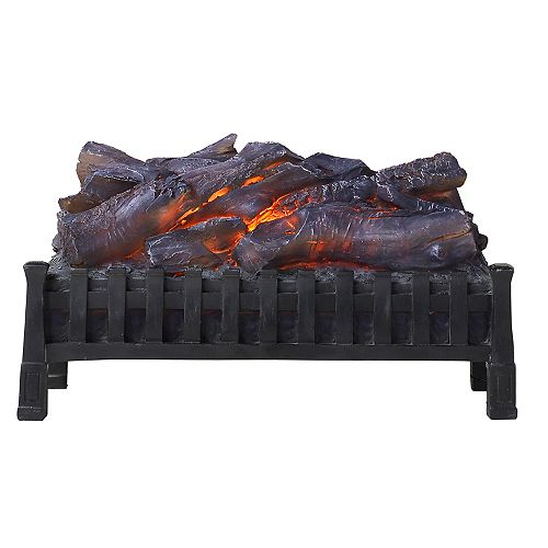 Electric Crackling Log Set