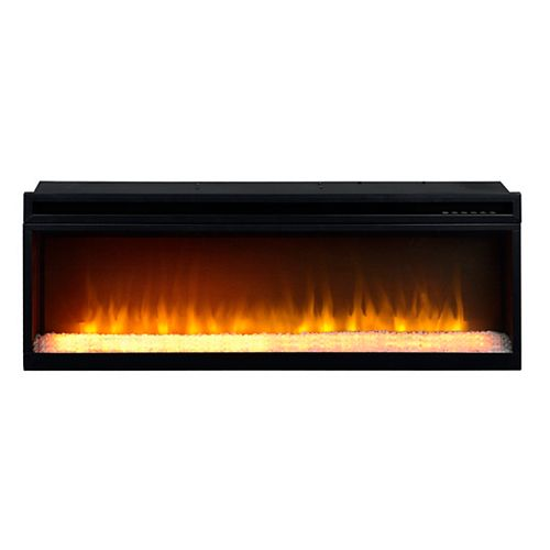 42 Inch Firebox Insert with Crushed Glass