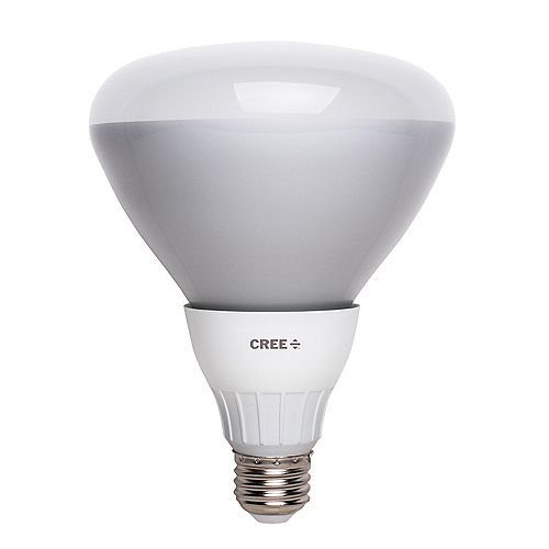 Cree 65W Equivalent Soft White (2700K) BR40 Dimmable LED Flood Light
