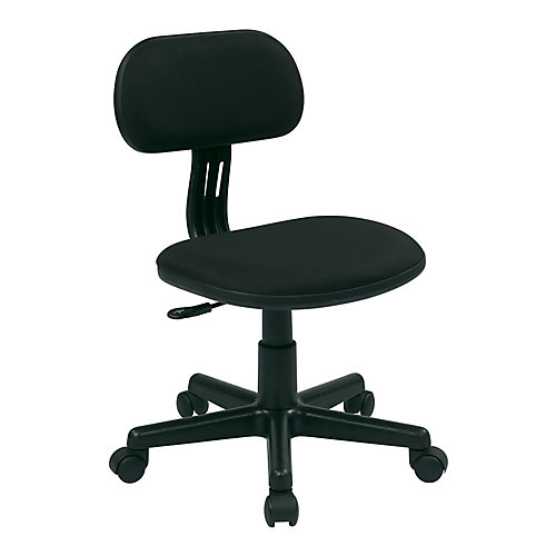 Student Task Chair in Black