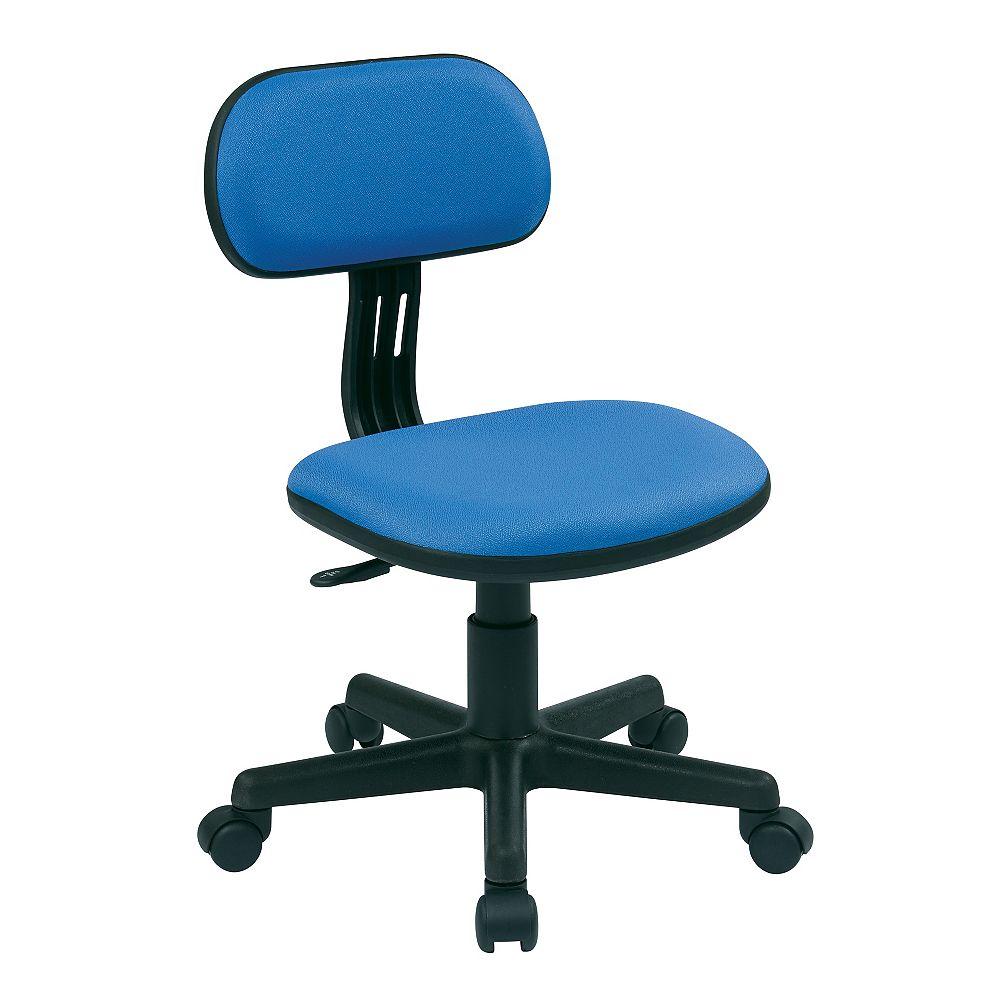 OSP Designs Student Task Chair, Blue