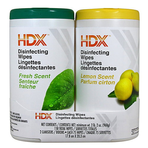 150ct Disinfectant Wipes