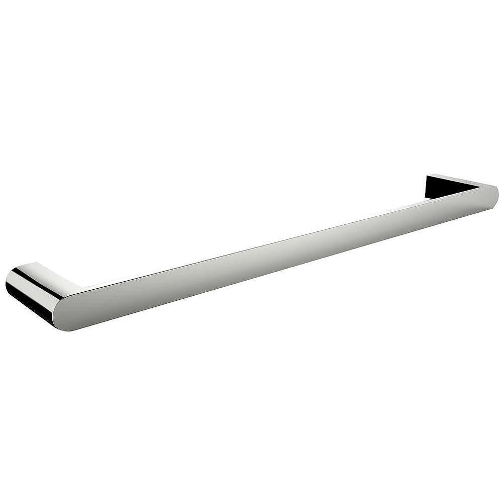 American Imaginations 24-in. Simple Porte-serviettes Rod En Chrome