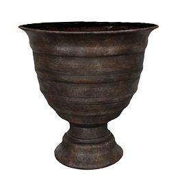 Pot Global challis 17'', brown