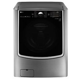 6.0 cu.ft. Front Load Washer with Mega Capacity in Graphite Steel