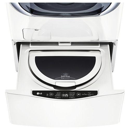 27-inch 1.0 cu. ft. SideKick Pedestal Washer with TWINWash in White