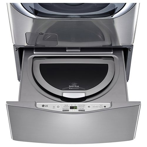 27-inch 1.0 cu. ft. SideKick Pedestal Washer with TWINWash in Graphite Steel