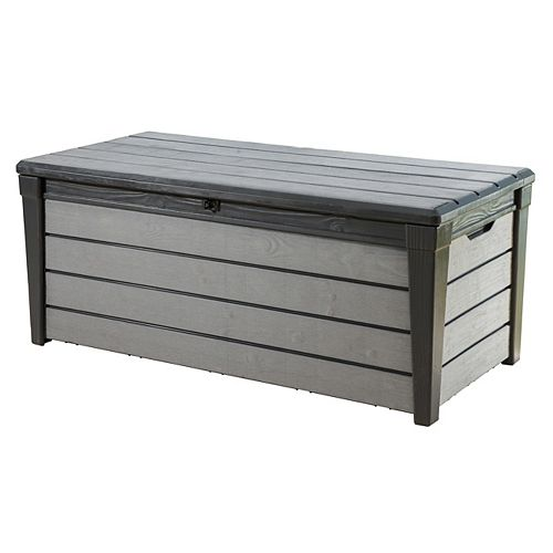 Keter 16 cu. ft. Brushwood Deck Box