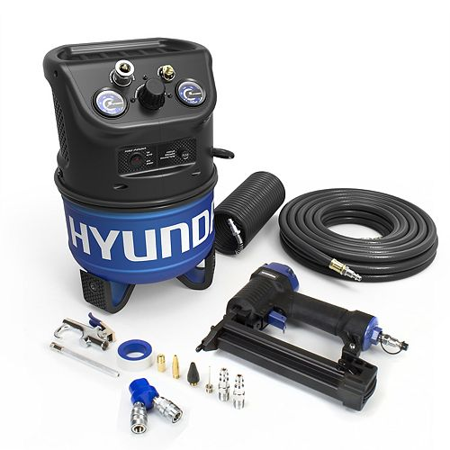 2 Gal. Portable Electric Air Compressor With 5-Tool Handy Kit