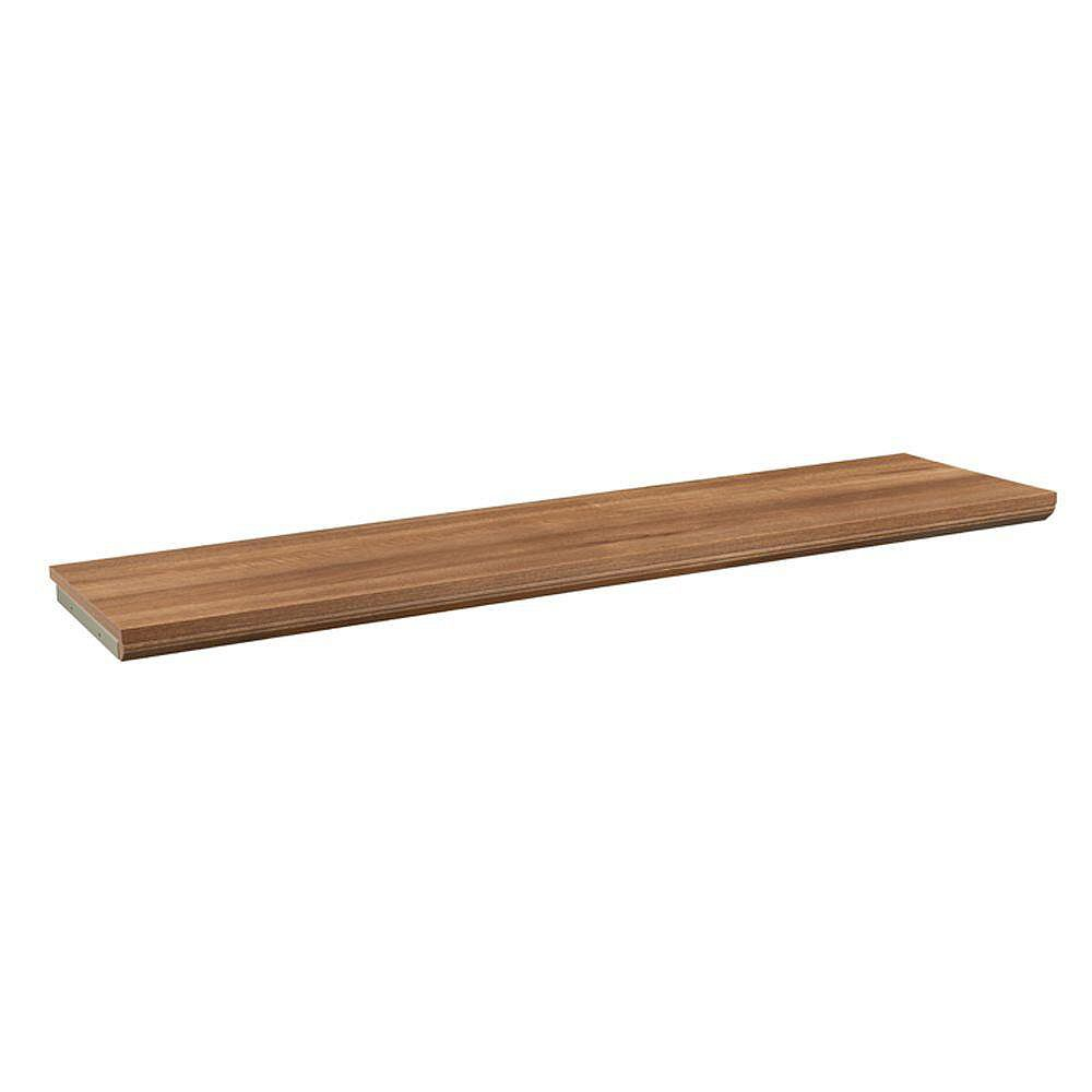 ClosetMaid Impressions 48 -inch Walnut Top Shelf Kit
