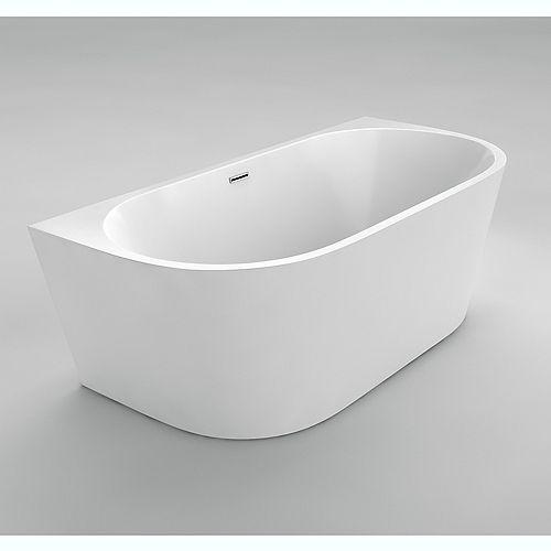 Acri-Tec Rochelle I 4 Feet 11-Inch Acrylic Freestanding Bathtub
