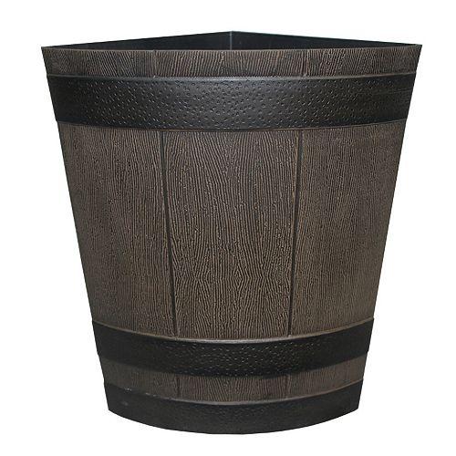 1/4 Whiskey Barrel in Kentucky Walnut