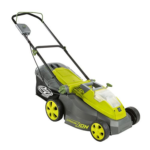 iON 16-inch 40V Cordless Lawn Mower with Brushless Motor-Tool Only