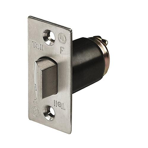 Loquet cylindre de verrou d'acier inoxydable sans protégé commercial de 2 3/8 po