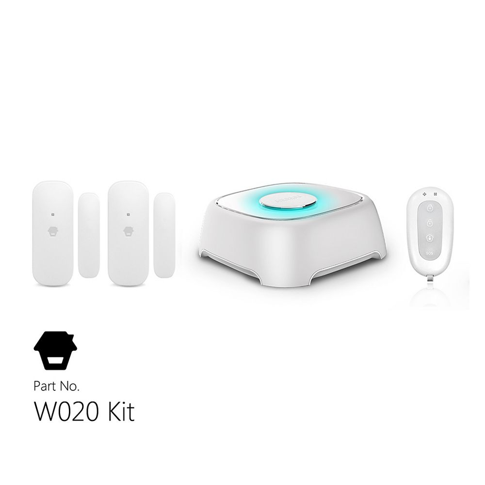 Smanos Wi-Fi Alarm System With Door & Window Sensors And Remote Control