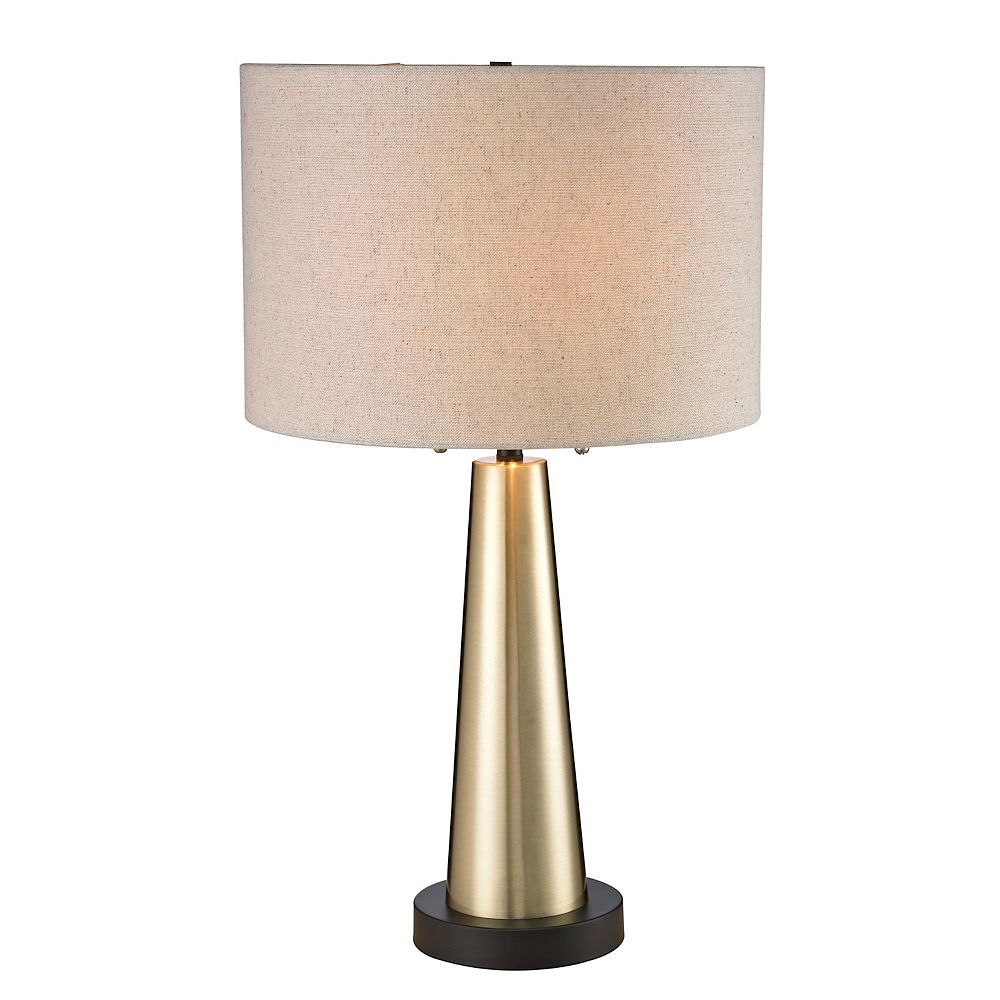 L2 Lighting Antique Gold Table Lamp