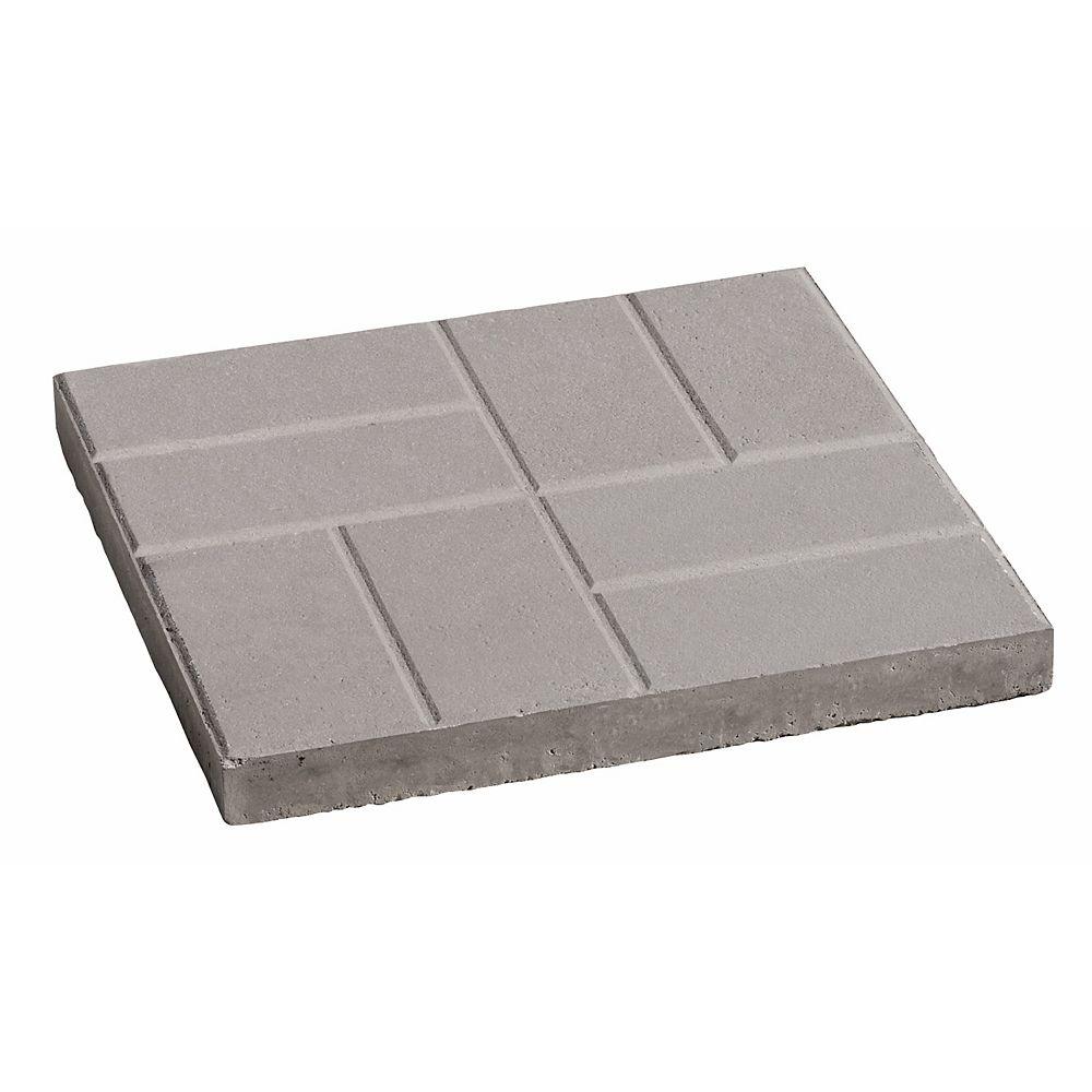 Oldcastle 16x16 Brick Slab Grey