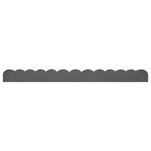 Pylon 47-inch L x 4-inch H Grey Garden Border