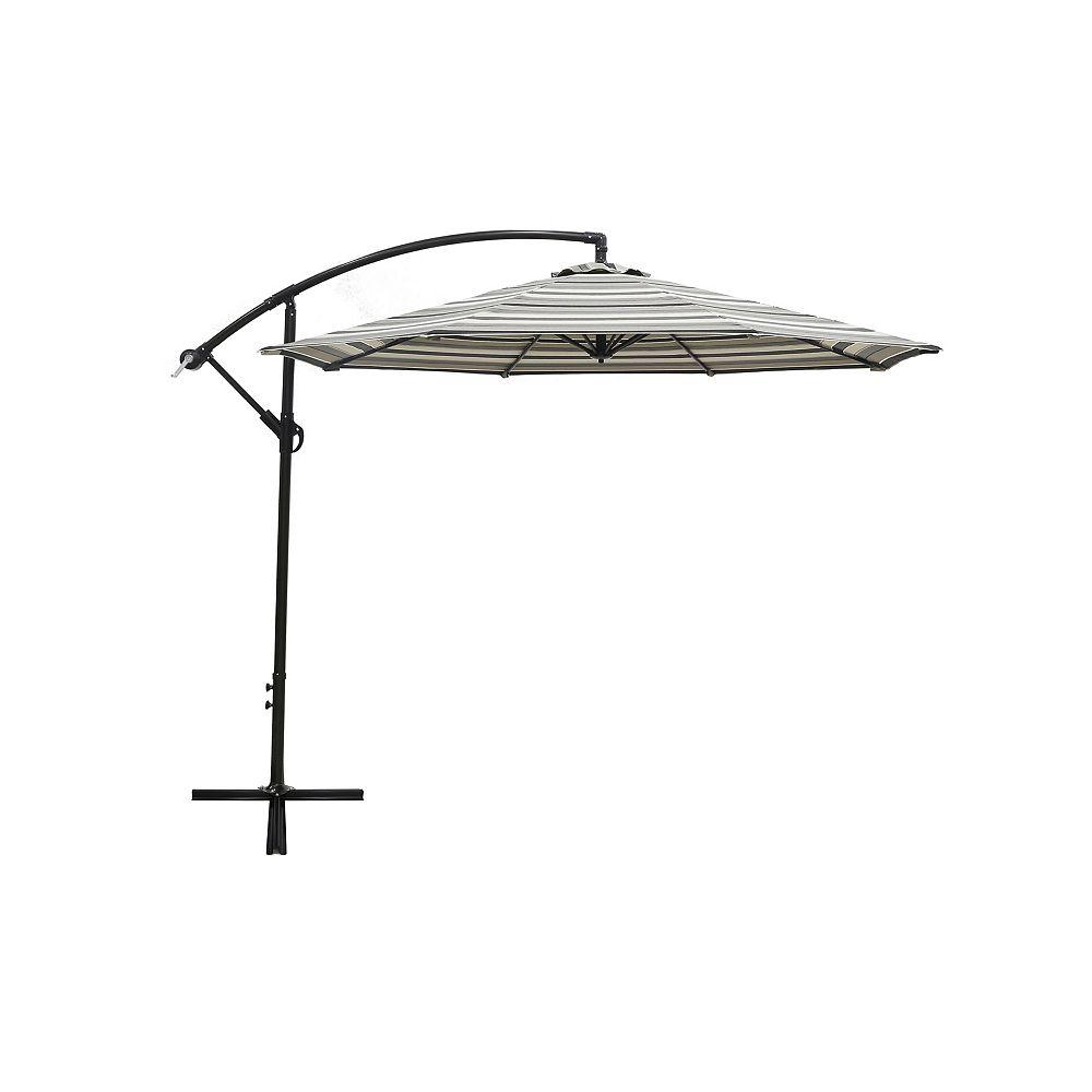 HDG 10 Feet Offset Umbrella - Stripe