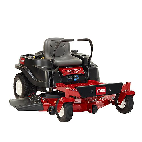 TimeCutter MX5000 50-inch Fab 24.5 HP  V-Twin Zero-Turn Riding Mower with Smart Speed