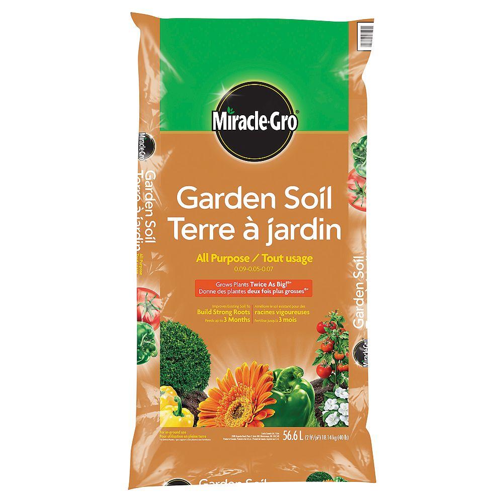 Miracle-Gro Garden Soil, 56.6 L