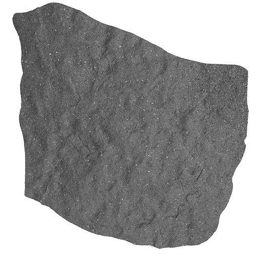 Dalle de jardin, 18 po x 18 po, pierre naturelle, gris
