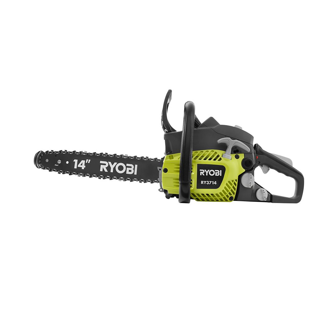 RYOBI 14-inch 37cc 2-Cycle Gas Chainsaw