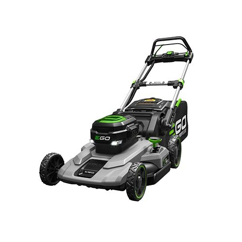POWER+ 21-inch 56V Li-Ion Cordless Electric Self Propelled Lawn Mower Kit with 7.5Ah Battery & Charger