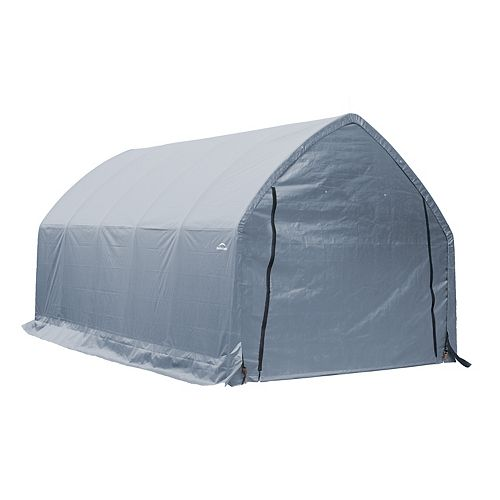 11 ft. x 20 ft. x 9.6 ft. Garage-In-A-Box Carport for SUVs/Trucks