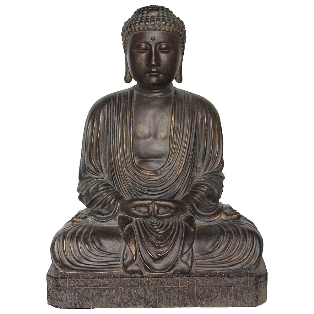Angelo Décor 26-inch Great Buddha Statue