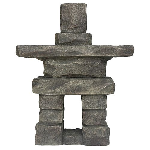 27-inch Inukshuk Statue