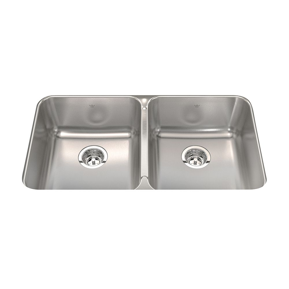 Kindred Double UM 20 Ga sink