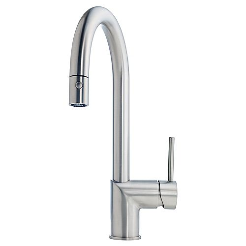 Gooseneck pull down faucet SN