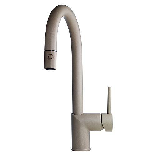 Gooseneck pull down faucet Oys