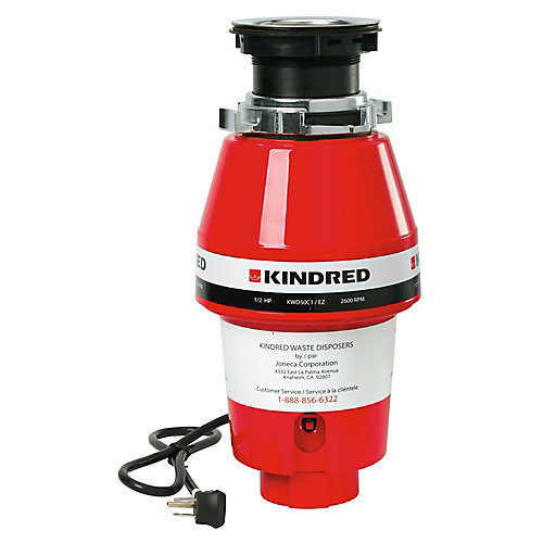 1/2 H.P. continuous feed - 5 year warranty