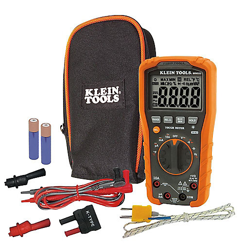 Digital Multimeter, Auto-Ranging, 1000V