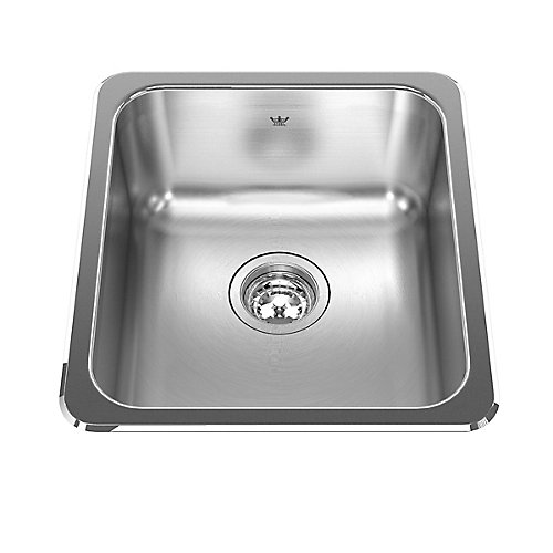 "Single sink 20 Ga - 18-1/8"" X 16-1/8"" X 8"""