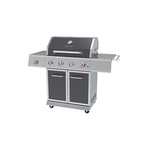 3-Burner Stainless Steel Propane BBQ with Searing Station and Side-Burner