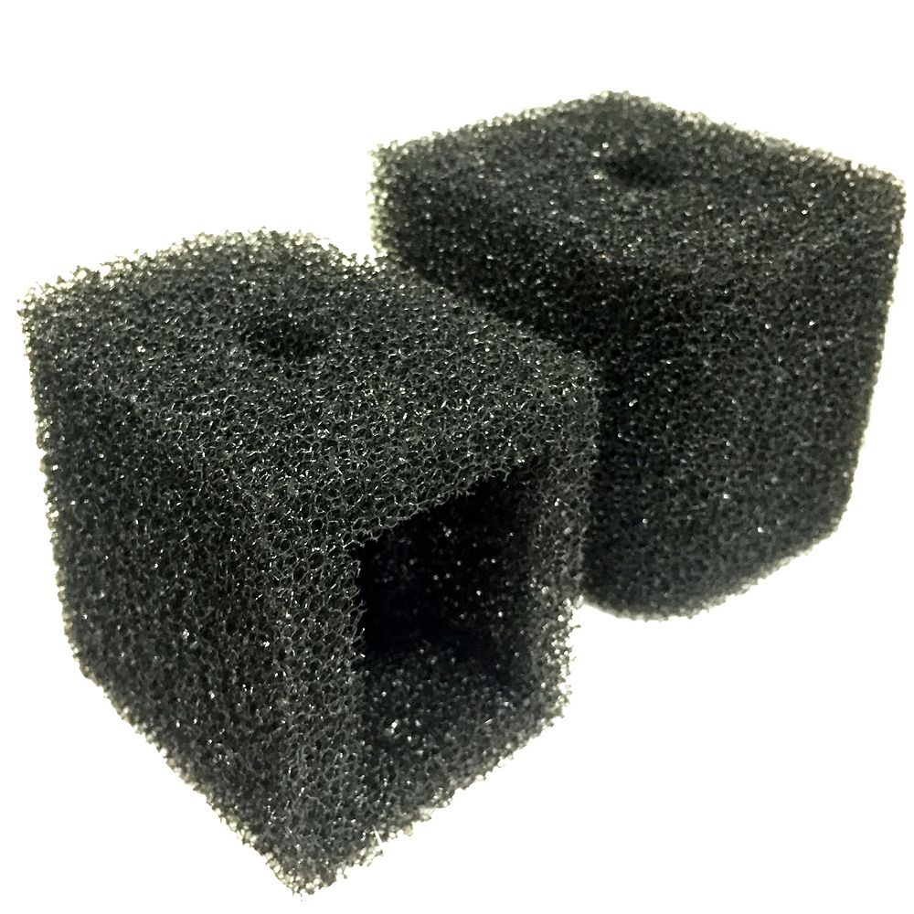 Angelo Décor PumpJacket Fountain Pump Filter, compatible with 60, 100, 140 GPH Pumps, 2-Pack