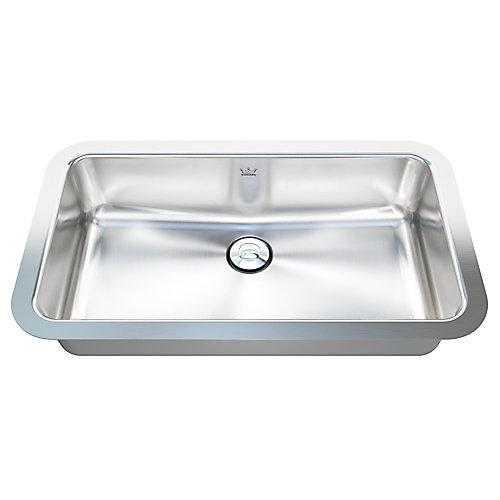 "18 Ga UM handwash basin -11"" X 19"" X 4-1/2"""